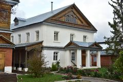 Tikhvin Bogorodichny Uspensky Monastery is an Orthodox women's m Stock Images