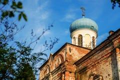 Tikhvin church of job the long-suffering Royalty Free Stock Image