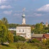 Tikhvin Church in Suzdal. Russia Stock Image