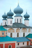 Tikhvin monastery Stock Photography