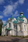 The Tikhvin monastery Stock Photos