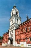 Tikhvin Theotokos的教会在Noginsk -莫斯科地区,俄罗斯 库存照片