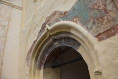 Tikhvin wniebowzięcia monasteru spadek 2018, Prawosławny, Tihvin, Świątobliwy Petersburg region, Rosja obrazy royalty free