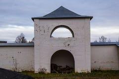 Tikhvin wniebowzięcia monasteru spadek 2018, Prawosławny, Tihvin, Świątobliwy Petersburg region, Rosja zdjęcia stock