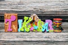 Tiki Bar Royalty Free Stock Images
