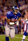 Tiki Barber in SB XXXV. New York Giants RB Tiki Barber, #21.  (Image taken from color slide Stock Photo