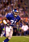 Tiki Barber in SB XXXV. New York Giants RB Tiki Barber, #21.  (Image taken from color slide Stock Image
