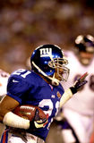 Tiki Barber, Super Bowl XXXV. New York Giants RB Tiki Barber in Super Bowl XXXV action.  (image taken from color slide Stock Photo