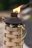 Tiki brûlant Photos libres de droits