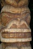 Tiki Carved Face fotos de stock