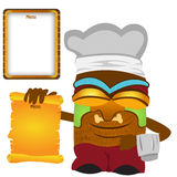 Tiki cook Stock Image