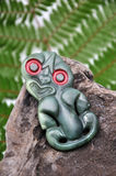 Tiki del jade imagen de archivo