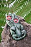 Tiki do jade imagem de stock