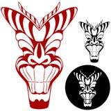 Tiki förebild Royaltyfri Foto