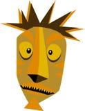 Tiki Guy. Art Conception for a Tiki Guy Stock Photo
