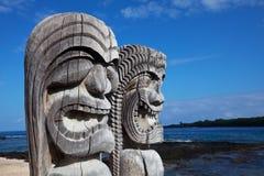 Tiki hawaiano Fotografia Stock Libera da Diritti
