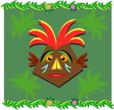 Tiki with Headdress Stock Photo