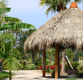 Tiki hut. Royalty Free Stock Photos