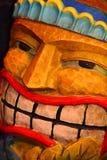 Tiki Man Royalty-vrije Stock Afbeelding