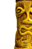 Tiki Man Ceramic Sculpture Stock Photos