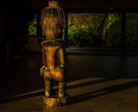 Tiki sculture royalty free stock photos