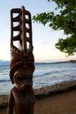 Tiki-Statue lizenzfreies stockfoto