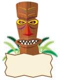 Tiki Statue Stock Image
