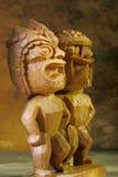 Tiki statues royalty free stock photos