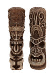 Tiki Statues Fotografía de archivo