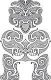 Tiki tattoo design Stock Photos