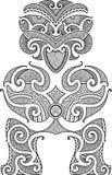 Tiki tattoo design Stock Photos