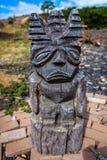 Tiki Tiki雕象 免版税库存图片