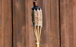 Tiki Torch Fotografie Stock Libere da Diritti
