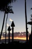 Tiki Torch Imagen de archivo libre de regalías