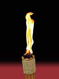 Tiki Torch on Background Royalty Free Stock Images