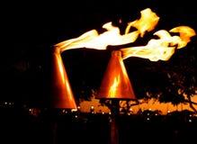 Tiki Torches Lizenzfreies Stockfoto