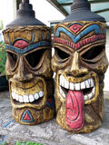 Tiki Torches Lizenzfreies Stockbild