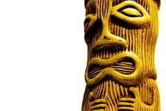 Tiki-Uomo Fotografia Stock