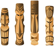 Tikis Royalty Free Stock Photo