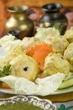 tikka гриба malai еды индийское Стоковое Изображение RF