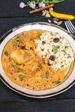 tikka de masala de poulet photo libre de droits