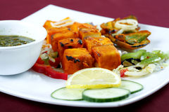 Tikka de Paneer Fotos de Stock Royalty Free