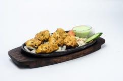 Achari Tikka Chicken Royalty Free Stock Images