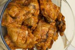 Tikka del pollo cotto in tandoor Fotografia Stock