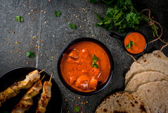 Tikka masala, butter chicken curry Stock Photography