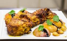 Tikka masala chicken dish Royalty Free Stock Images