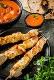 Tikka masala, masło kurczaka curry Obrazy Stock
