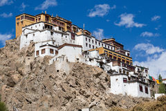Tiksey Buddhist monastery in Ladakh, India Stock Image
