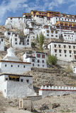 Tiksey Monastery is a Buddhist monastery in Ladakh, India , Stock Photos