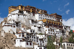 Tiksey Monastery in Ladakh, India , Royalty Free Stock Images
